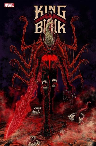 King in Black #1 Cover I Incentive Superlog Variant Cover
