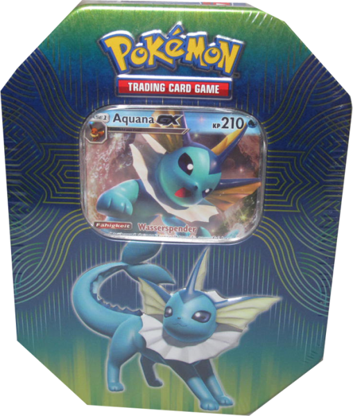 Pokemon Aquana GX Tin Box deutsch