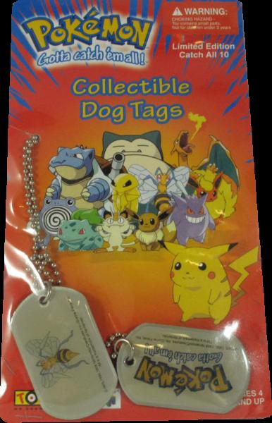 Pokemon Dog Tag Bibor