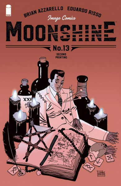 Moonshine #13 Main Cover