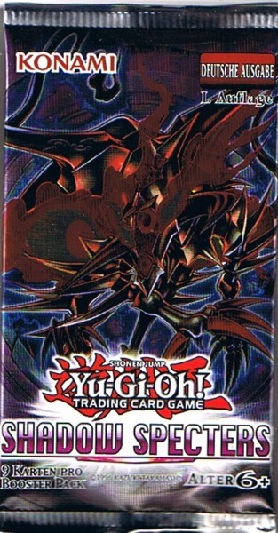 Yu-Gi-Oh! Shadow Specters Booster deutsch