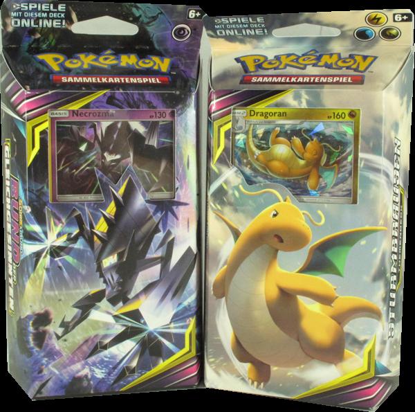 Pokemon Sonne & Mond Bund der Gleichgesinnten Themendeck Set