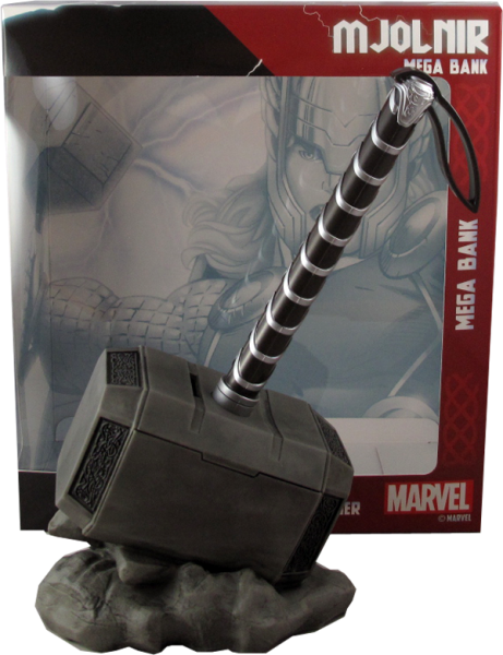 Marvel Thor's Hammer Mjolnir Spardose