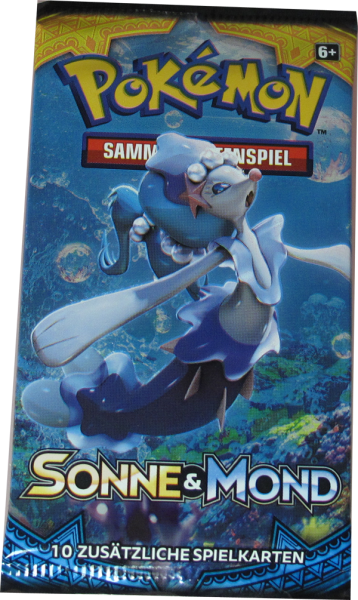 Pokemon Sonne & Mond Booster