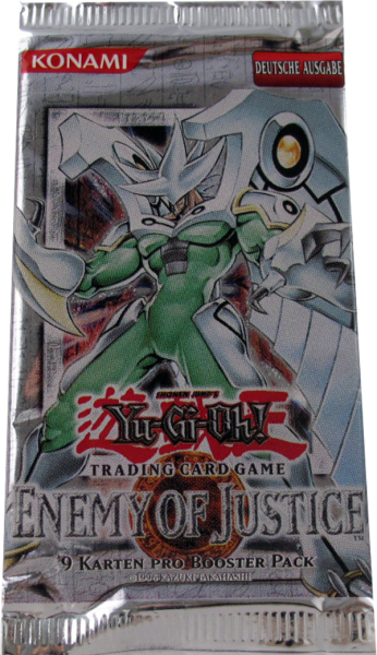 Yu-Gi-Oh! Enemy of Justice Booster deutsch