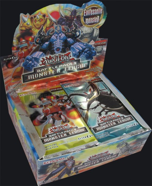 Yu-Gi-Oh! Battle Pack 3 - Monster League Booster Display