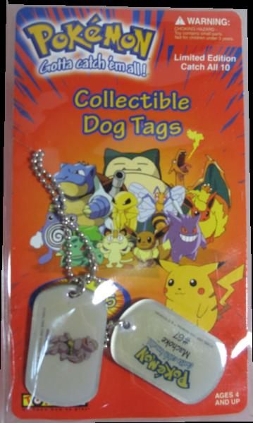 Pokemon Dog Tag Machoke #67