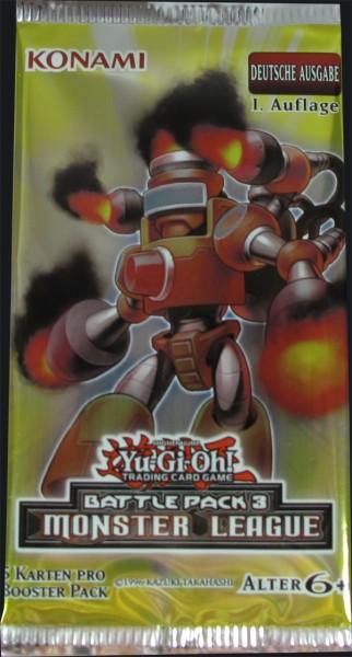 Yu-Gi-Oh! Battle Pack 3 - Monster League Booster deutsch