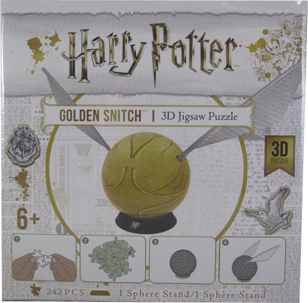 Harry Potter Golden Snitch - 3D Jigsaw Puzzle