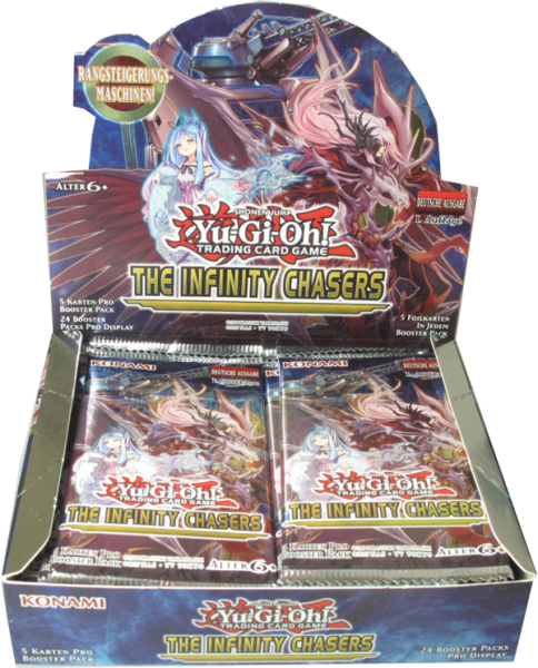 Yu-Gi-Oh! Infinity Chasers Booster Display