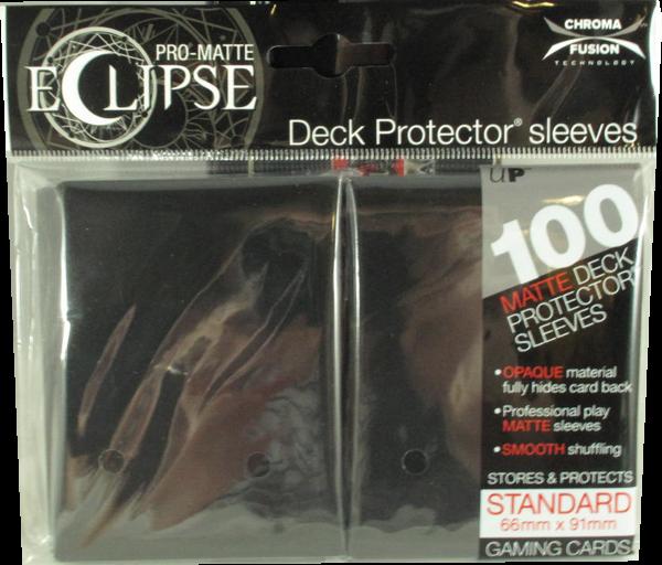 Ultra Pro - Standard - Pro-Matte Eclipse - Black - 100 Hüllen - Deck Protector Sleeves