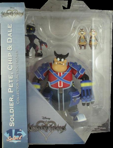 Diamond Select Figur Kingdom Hearts Soldier, Pete, Chip & Dale