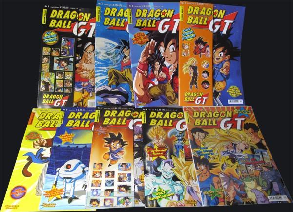 Dragon Ball GT #1-9
