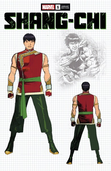 SHANG-CHI #1 (OF 5) CHEUNG DESIGN VAR (1:10)