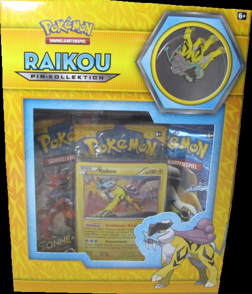 Pokemon Raikou Pin-Kollektion