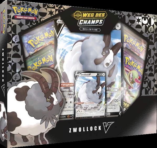 Pokemon Weg des Champs Zwollock-V Kollektion