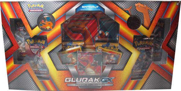 Pokemon Glurak GX Premium-Kollektion