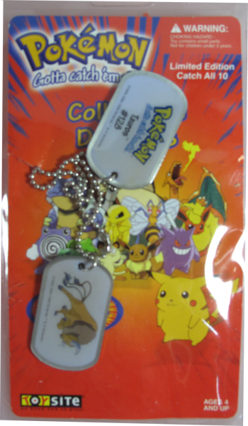 Pokemon Dog Tag Tauros #128