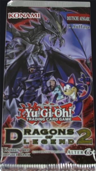 Yu-Gi-Oh! Dragons of Legend 2 Booster deutsch