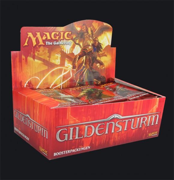 Magic Gildensturm Booster Display