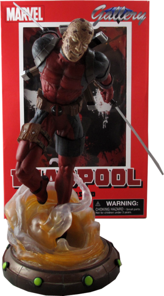 Marvel Gallery Figure Deadpool Unmasked