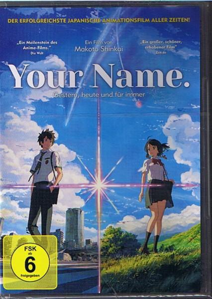 Your Name. Gestern heute und für immer DVD