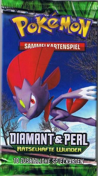 Pokemon Diamant & Perl Rätselhafte Wunder Booster deutsch