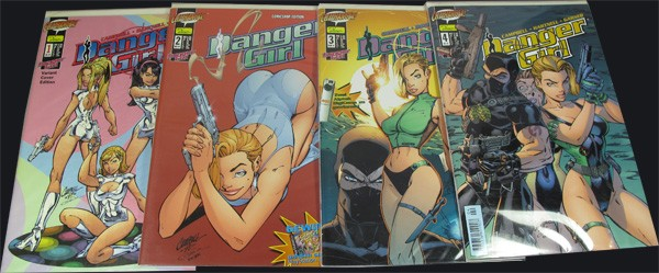 Danger Girl #1-4