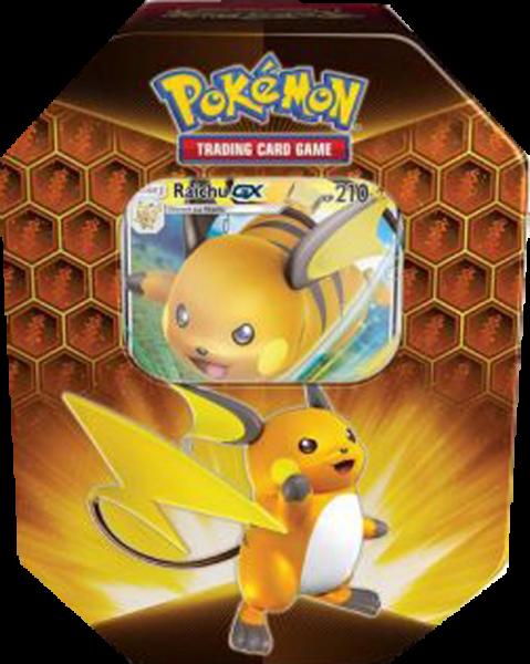 Pokemon Raichu-GX Tin Box deutsch