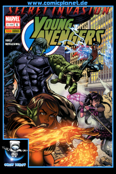 Young Avengers Band 5: Secret Invasion