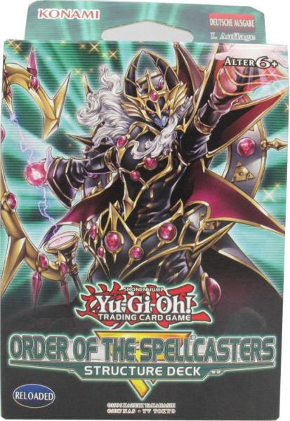 Yu-Gi-Oh! Order of the Spellcaster Structure Deck