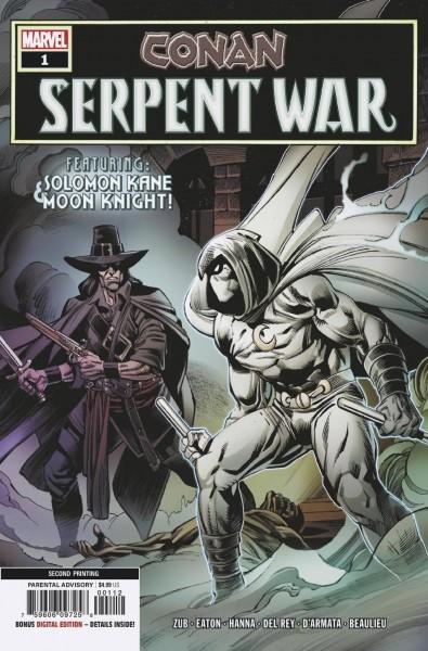 CONAN SERPENT WAR #1 (OF 4) 2ND PTG EATON VAR