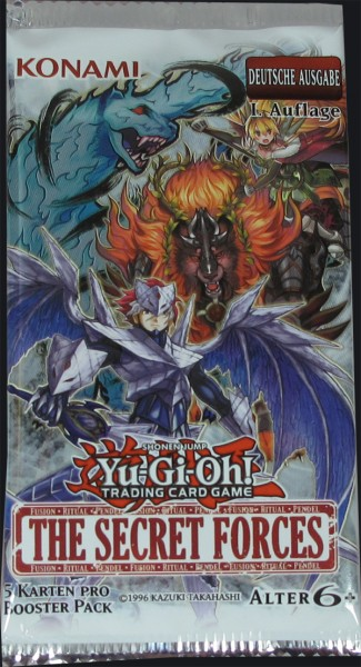 Yu-Gi-Oh! The Secret Forces Booster deutsch