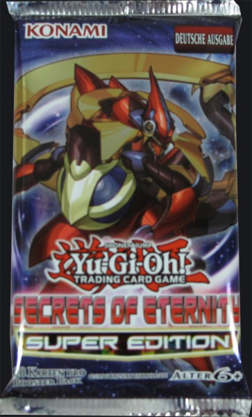 Yu-Gi-Oh! Secrets of Eternity Super Edition Booster deutsch