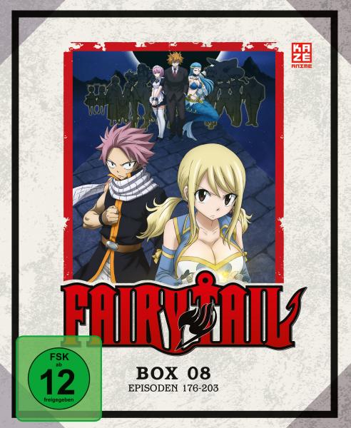 Fairy Tail TV Serie Box 08 Blu-ray