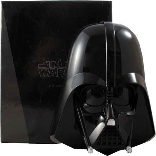 Star Wars Silver Coin Set Darth Vader Coin Case mit Sound ohne Münzen