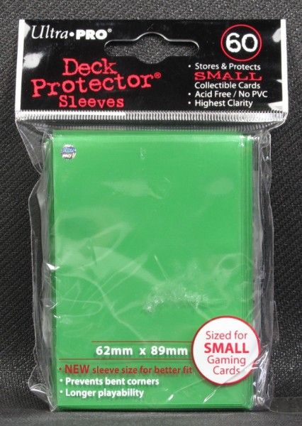 Ultra Pro - Small - Lime Green - 60 Hüllen - Deck Protector Sleeves