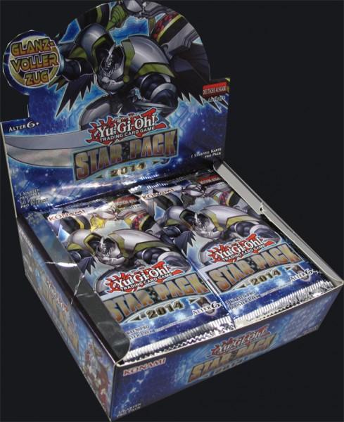 Yu-Gi-Oh! Star Pack 2014 Booster Display