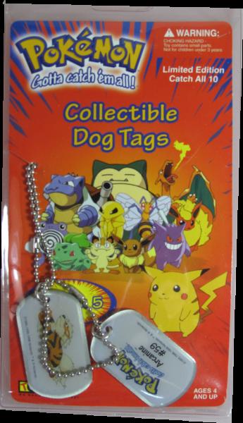Pokemon Dog Tag Arcanine #59
