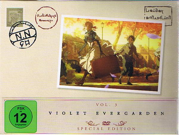 Violet Evergarden Vol. 03 Special Edition