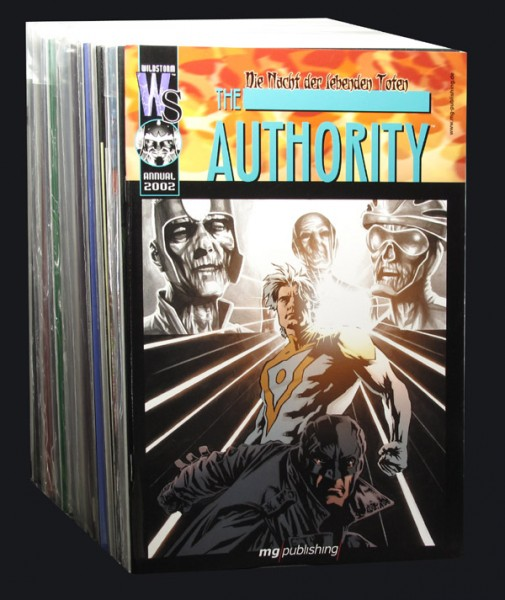 Authority Comic Set