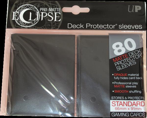Ultra Pro - Standard - Pro-Matte Eclipse - Black - 80 Hüllen - Deck Protector Sleeves