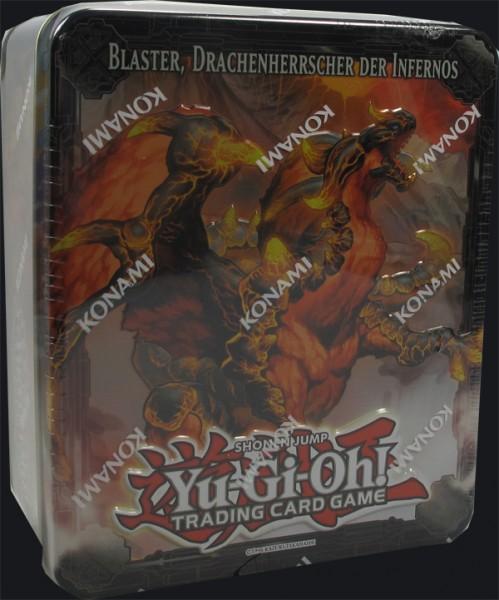 Yu-Gi-Oh! Blaster, Drachenherrscher der Infernos Tin Dose deutsch