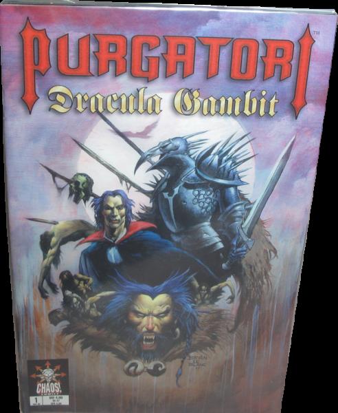 Purgatori #1-3 Dracula Gambit Variant Cover Edition