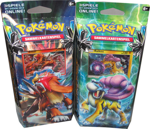 Pokemon Sonne & Mond Echo des Donners Themendeck Set