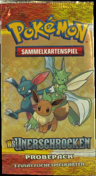 Pokemon HS Unerschrocken Probepack