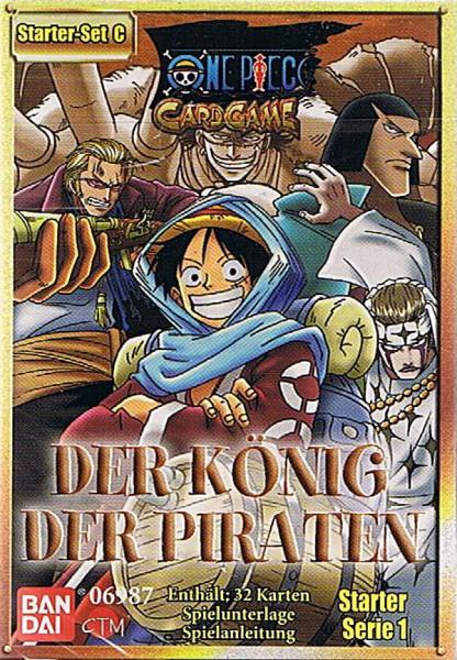 One Piece Der König der Piraten Starter Set C