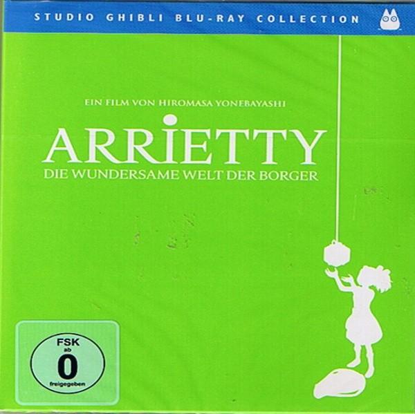 Ghibli Arietty - Die wundersame Welt der Borger Blu-ray