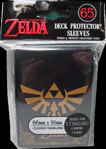 Ultra Pro - Standart - The Legend of Zelda Black & Gold - 65 Hüllen - Deck Protector Sleeves