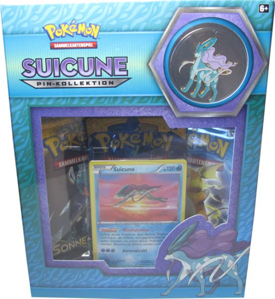 Pokemon Suicune Pin-Kollektion